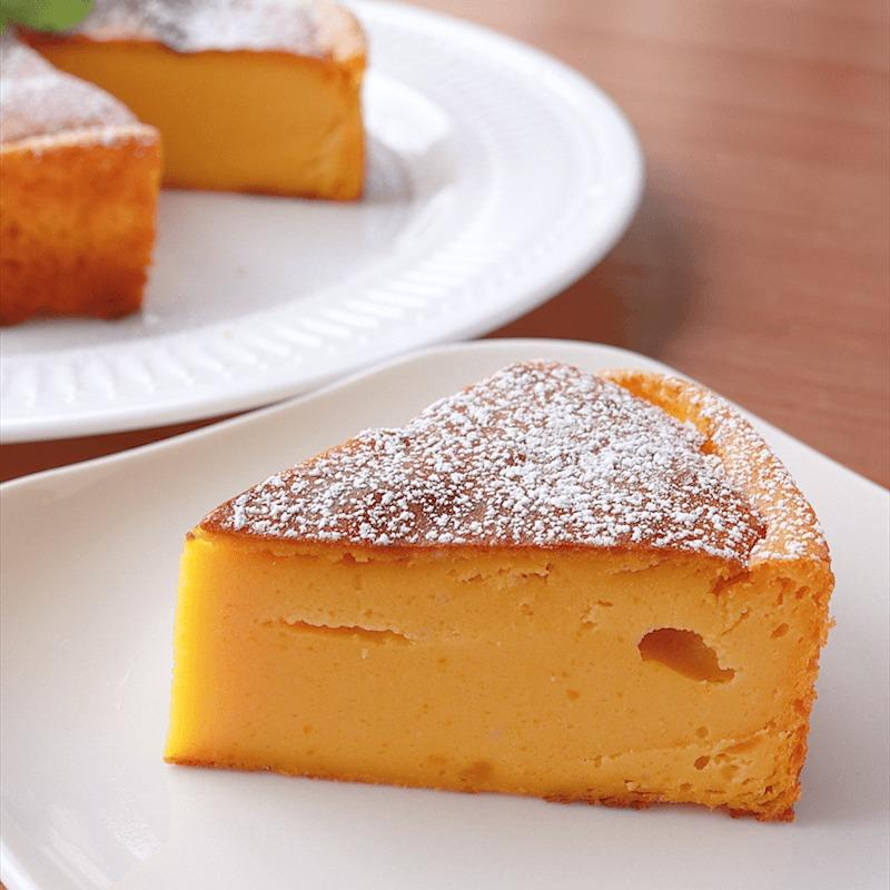 濃厚 かぼちゃのチーズケーキ 作り方 レシピ クラシル