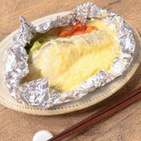 タラの味噌チーズホイル焼き