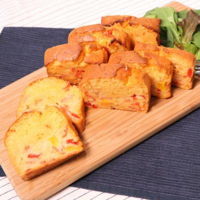 朝食やおやつにもぴったりのラタトゥイユケークサレ