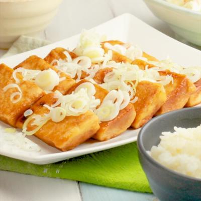 高野豆腐の甘辛焼き