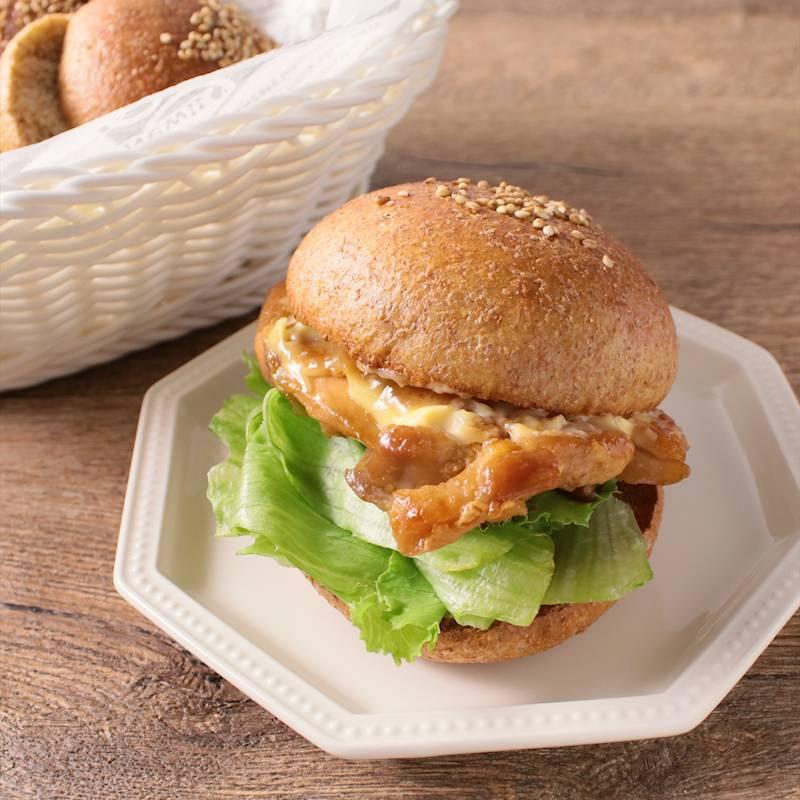 照り 焼き チキン バーガー レシピ