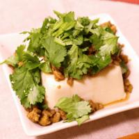 パク盛り!エスニック豆腐