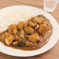 鶏むね肉のごろっと和風カレー