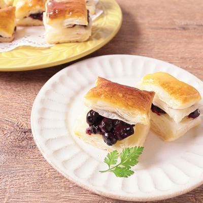 ブルーベリーとチーズの簡単パイ