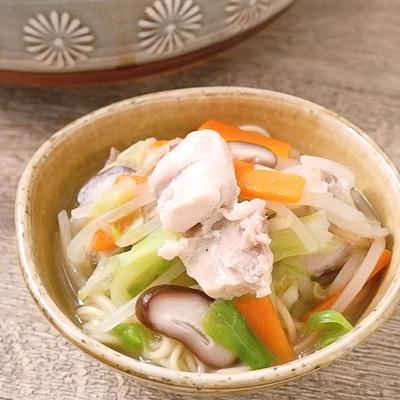 鶏の旨味あふれる 煮込みラーメン