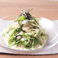 リボン大根の簡単和風ツナサラダ