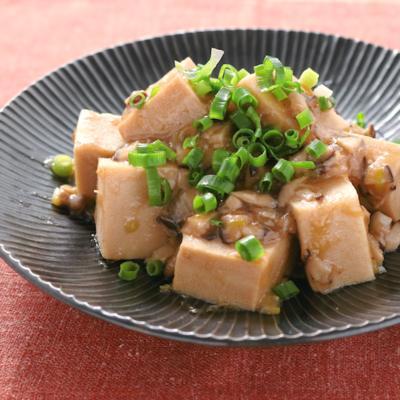 ごちそう高野豆腐 しいたけあんかけ
