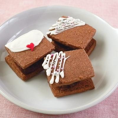 デコレーション生チョコサンドクッキー