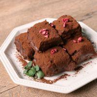 混ぜて簡単 柔らか豆乳生チョコレート