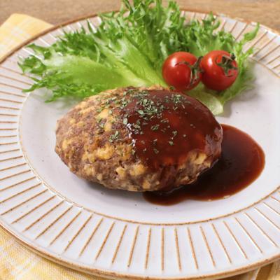 豆腐でかさ増し 豆腐ハンバーグ