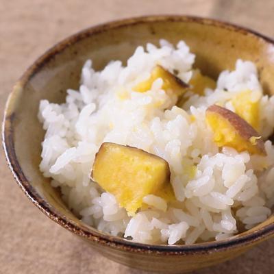安納芋の炊き込みご飯