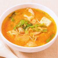 簡単 キムチ鍋風スープ