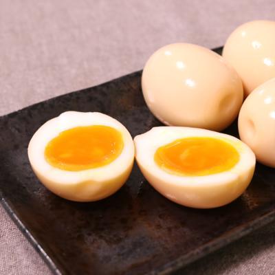 残った煮汁で!簡単味付け卵