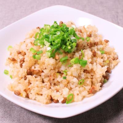 簡単美味い!納豆チャーハン