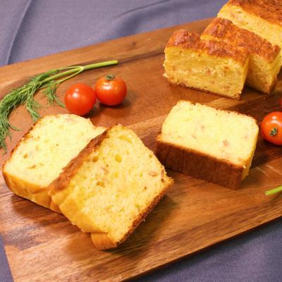 ホットケーキミックスで作る 簡単ケークサレ
