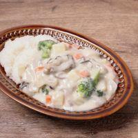牡蠣の旨味たっぷり シチューライス