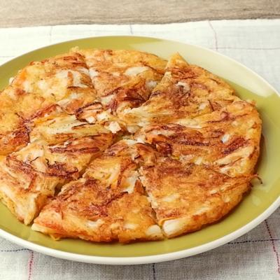 食感が楽しい 長芋のチーズガレット