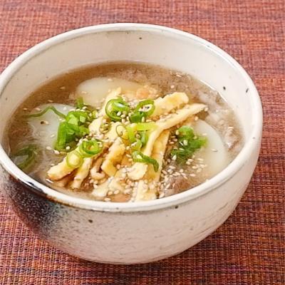 韓国風雑煮トックスープ