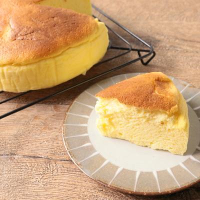 ふわふわ スフレのチーズケーキ
