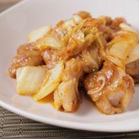 簡単で美味しい 鶏キムチ