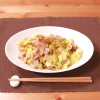 ゆず胡椒香る 豚バラとキャベツの炒め物