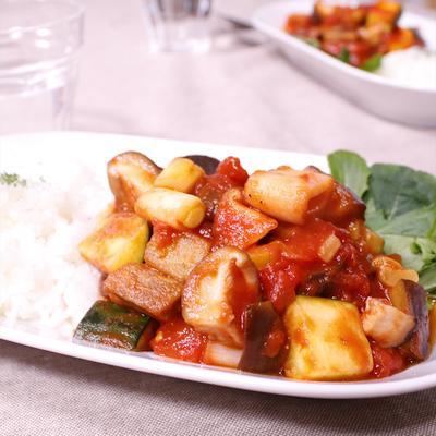ごはんと一緒に食べちゃう!野菜たっぷりラタトゥイユ