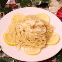 にんにく香るレモンオイルパスタ