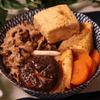 ピリッと甘辛!中華風肉豆腐