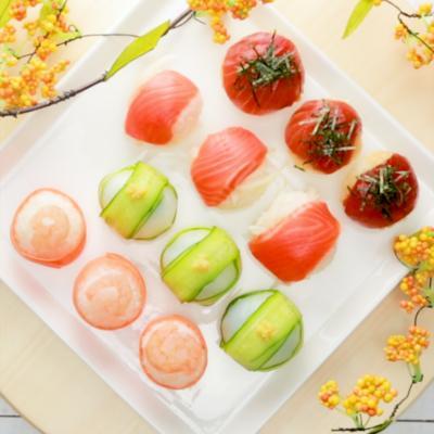 4種の手まり寿司