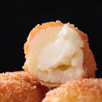 とろーりチーズとじゃがいもの生ハム巻きフライ