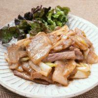 豚バラ肉のジューシーオイマヨ炒め