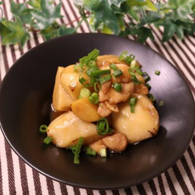 ごはんがすすむ!鶏と里芋のうま煮