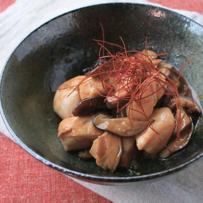 しいたけとささみの中華風炒め煮