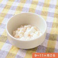 絹ごし豆腐と鶏ひき肉のあんかけ