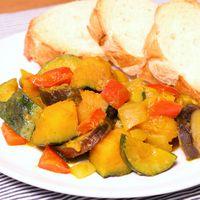 たっぷり夏野菜のカレー煮