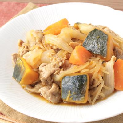定番和食をアレンジ 肉かぼちゃ