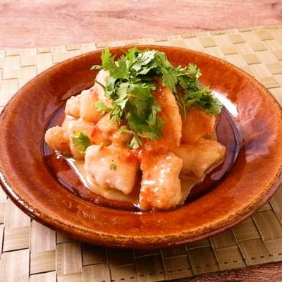 エスニック風 鶏マヨ