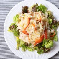 たっぷり新玉ねぎと豚肉のマリネ風サラダ