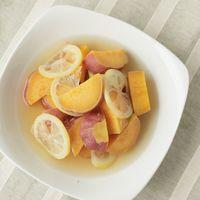 安納芋のレモン煮