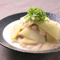 スープたっぷり 大根と豚肉の豆乳煮