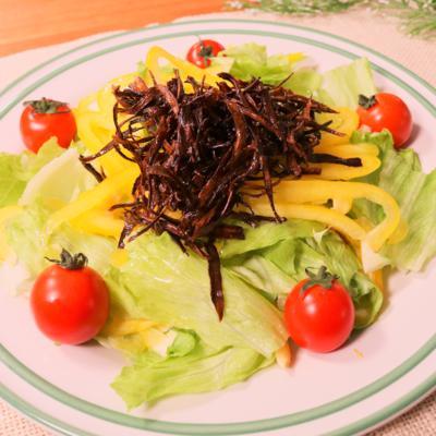食感がいい!パリパリごぼうサラダ