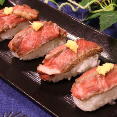お家でお店の味!肉寿司