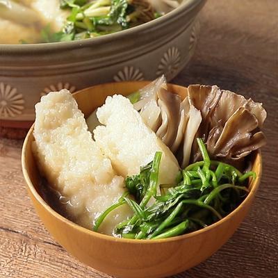 塩味スープのきりたんぽ鍋