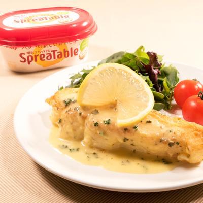 おもてなしにぴったり 白身魚のピカタ レモンバターソース