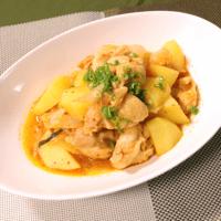 味噌仕立て 鶏とじゃがいものキムチ煮