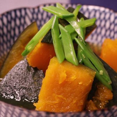 お出汁まで美味しい!かぼちゃの煮物