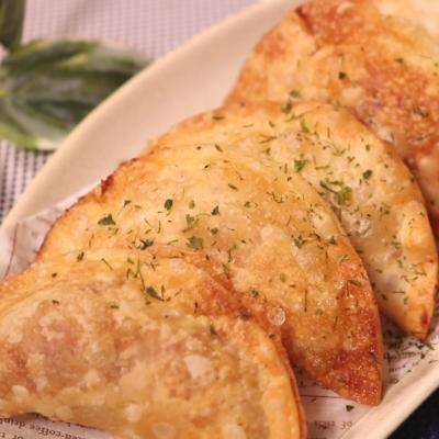納豆とチーズ揚げ