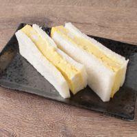 レンジで簡単 ふわふわ卵サンド