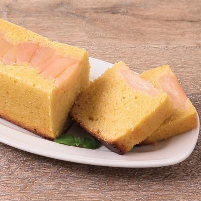 パウンド型でタルトタタン風ケーキ