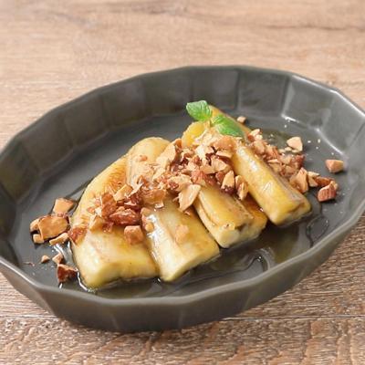 ハニーナッツの焼きバナナ